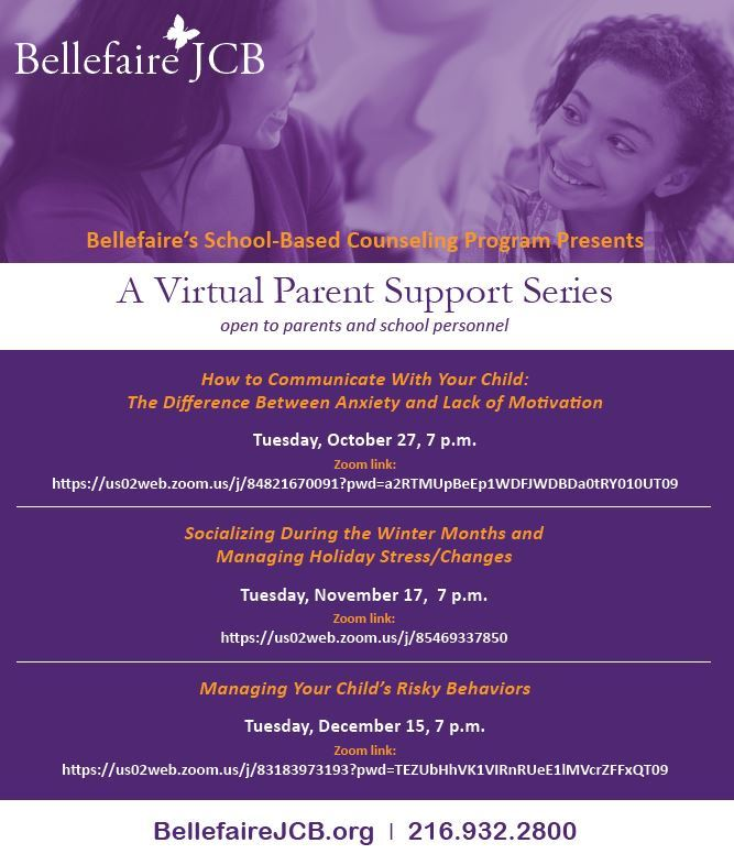 Virtual Parent Support Series