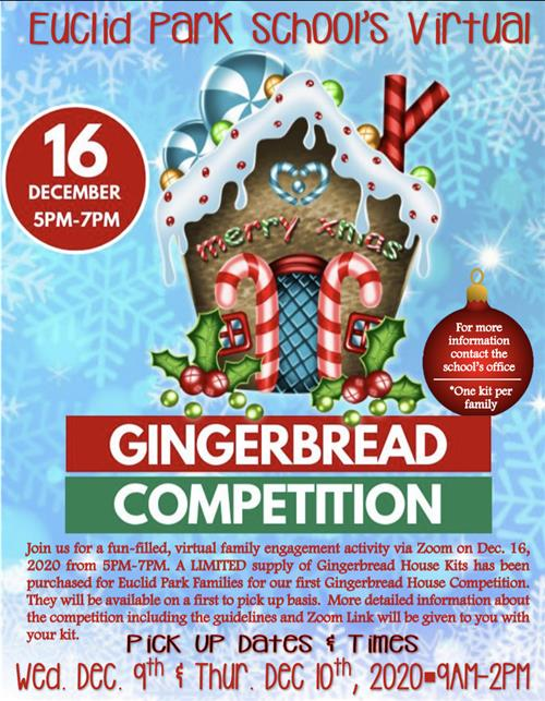 Gingerbread Competition Flyer