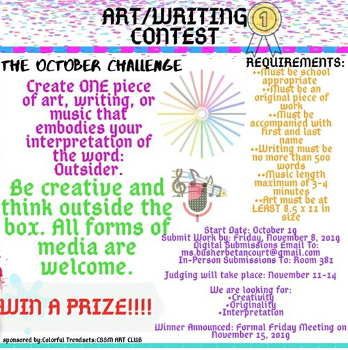 The October Challenge!