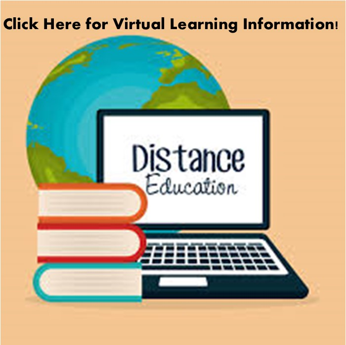 "Click to find some distance Learning Resources under the ""Resources"" Tab!"