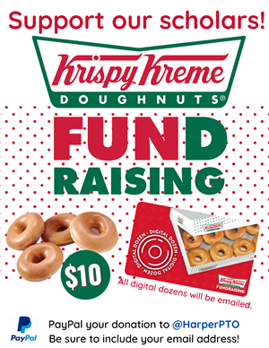 Help the school by buying doughnuts!