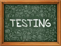 Click Here for Testing Information!