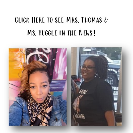 Click Here to see Mrs. Thomas and Ms. Tuggle in the news!