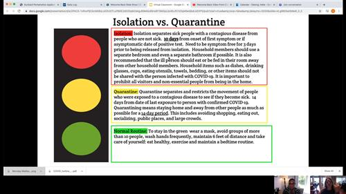 difference between Isolation and quarantine