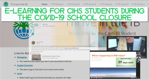 Online Learning @ CIHS
