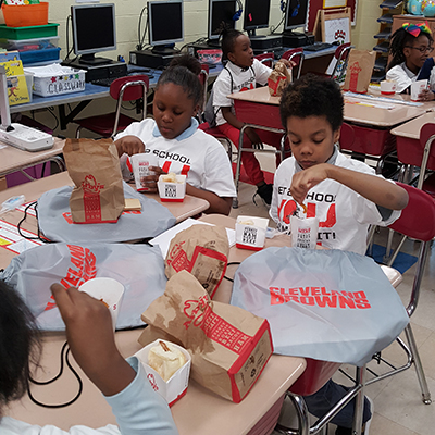 Arby's Lunch party for attendance