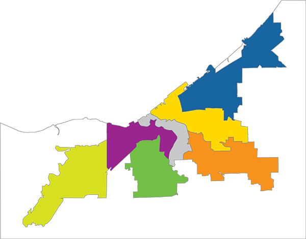 Map of Regions for reference