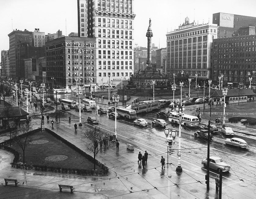 Cleveland In The 1950s