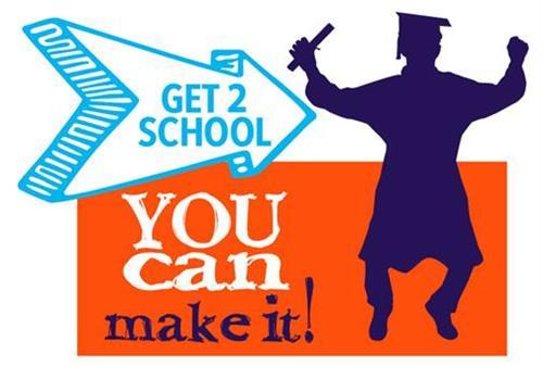 Get 2 School, You can make it!