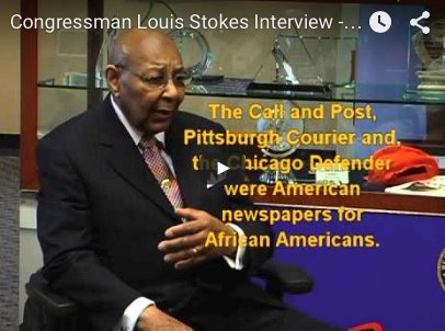 Congressman Louis Stokes Interview - 2008