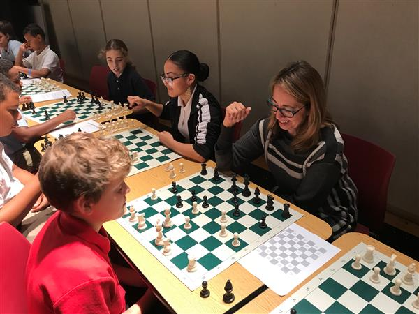 Chess at Artemus Ward