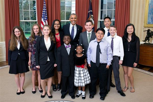 "Design Lab Early College student chosen as White House ""Kid Science Advisor"""