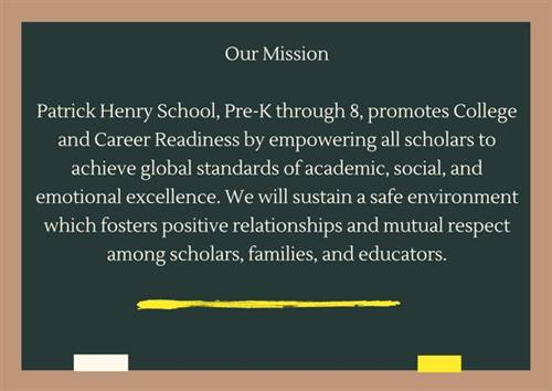 School Mission Statement