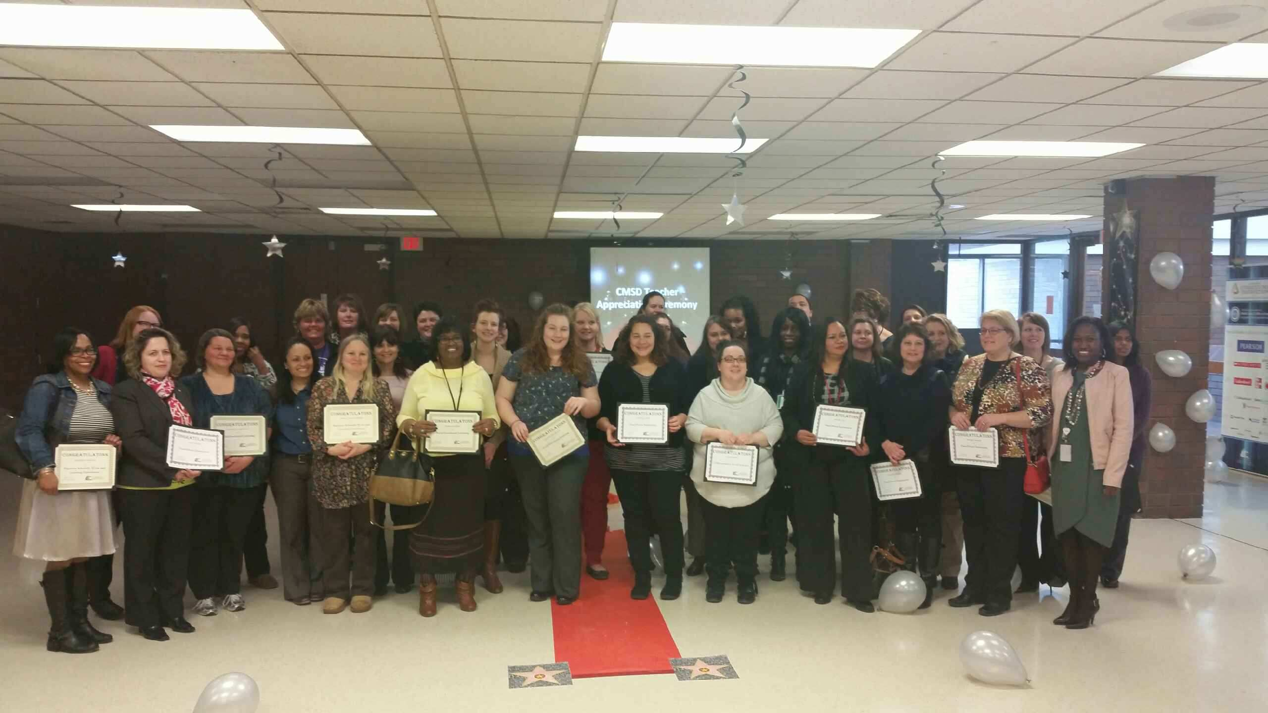 Glenville teacher honored at 2015 Educator Appreciation Day
