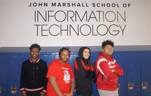 John Marshall IT Students