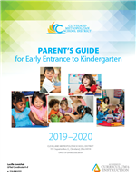 Parents Guide for Early Entrance to Kindergarten