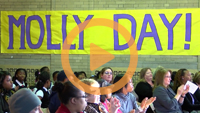 "Cleveland students honor Voinovich family at annual ""Molly Day"" program"