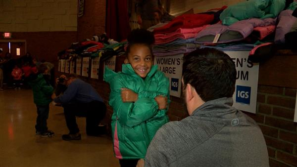 Operation Warm ensures every student at Cleveland school has a winter coat