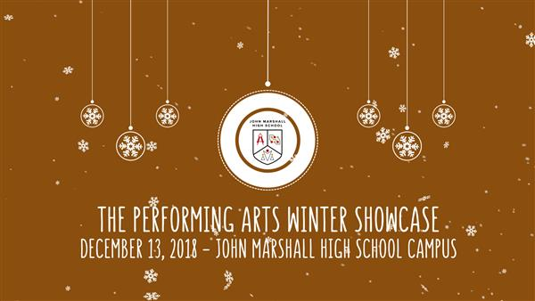 John Marshall Performing Arts Winter Showcase 2018