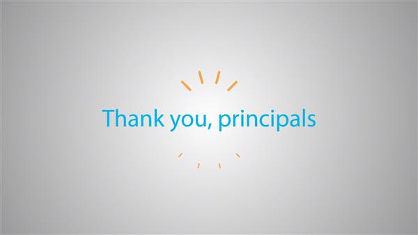 Thank You, CMSD Principals!