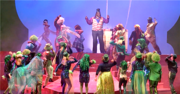 "Cleveland students perform All-City Musical ""The Wiz"" at Playhouse Square"