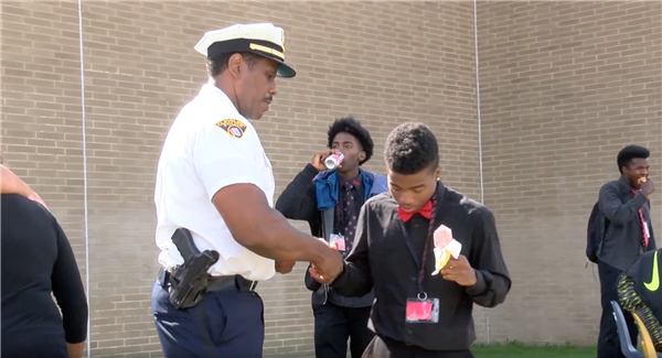 Cleveland police visit high schools, hope to build trust with teens