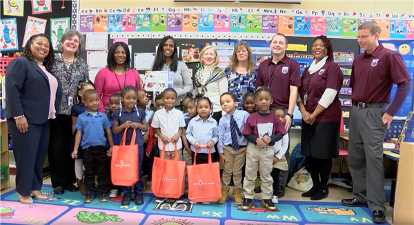 PNC surprises preschool classrooms to help support early childhood education