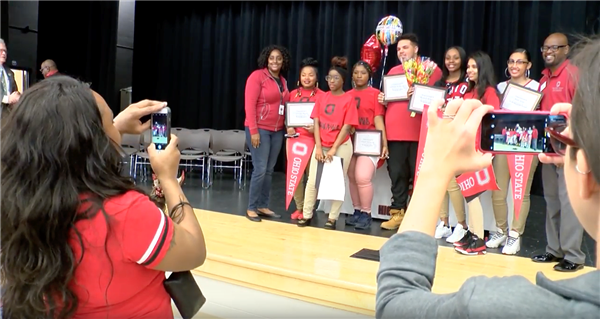 John Marshall School of IT celebrates first graduating class at College Signing Day event