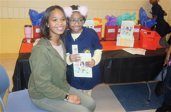 Actress Quvenzhané Wallis brings message to Euclid Park girls (Photo gallery)