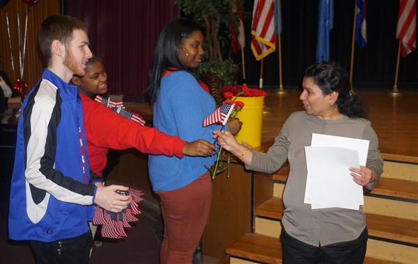Lincoln-West Global Studies hosts citizenship ceremony (photo gallery)
