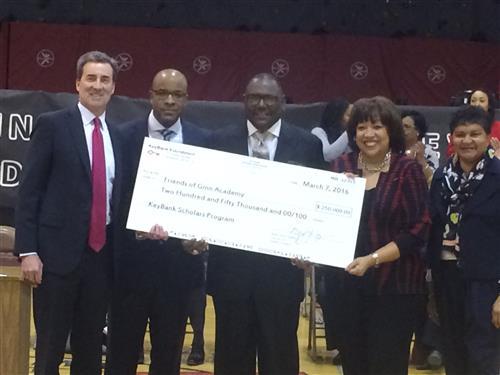 KeyBank gives Ginn Academy $250,000