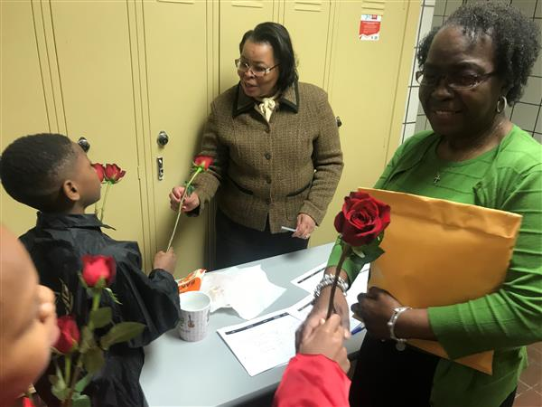Kenneth Clement boys surprise Valentines (Photo gallery)