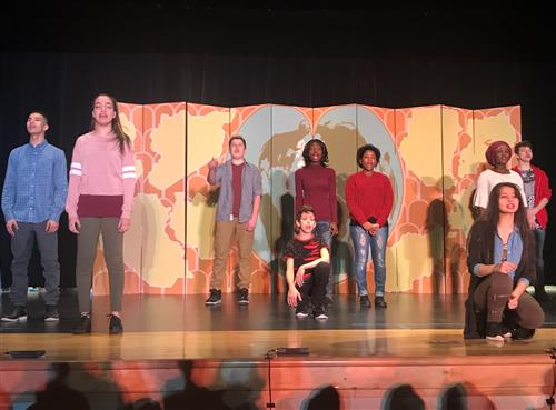 International students tell their stories in original performance