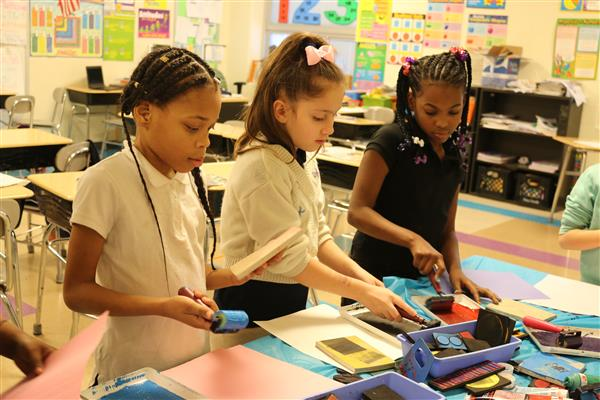 Paul L. Dunbar School finds winning formula in arts-infused learning (Photo Gallery)
