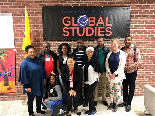 Mozambican delegation visits Lincoln-West Global Studies