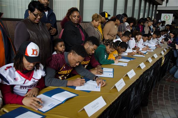 30 CMSD athletes sign letters of intent (photo gallery)