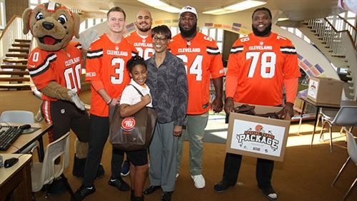 cleveland browns foundation cams
