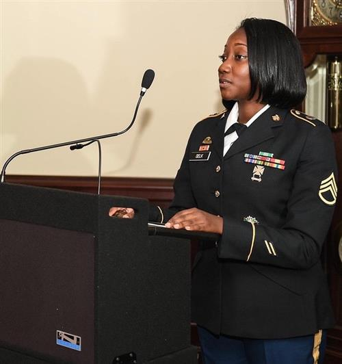 Jane Addams grad is chef for top Army officials
