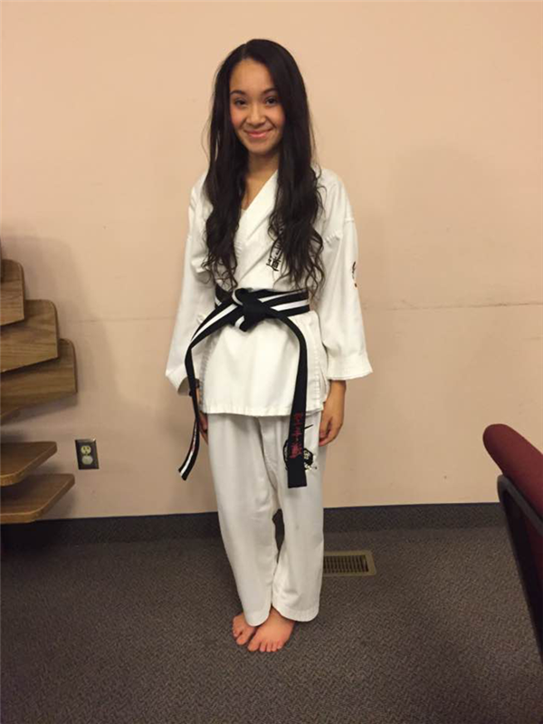 Student Spotlight: Karate Girl