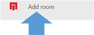 Add Room with Arrow