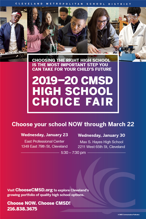 High School Choice Fair poster
