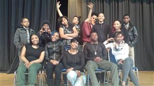 Choices cast at Collinwood High