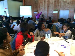 CMSD student advisory committee, Oct. 2015