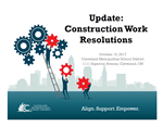 Construction Work Resolutions
