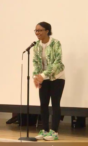 Genesis performing at Open Mic in February
