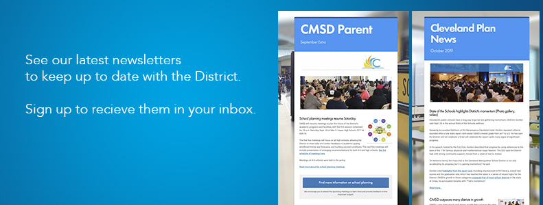 CMSD newsletters