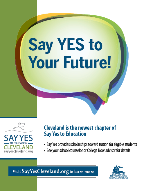 Say Yes Takeaway Poster