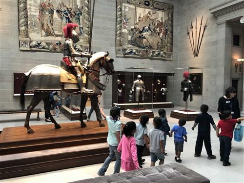 Preschool at the Cleveland Museum of Art